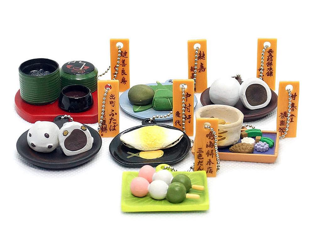 京都老舗の和菓子フィギュア