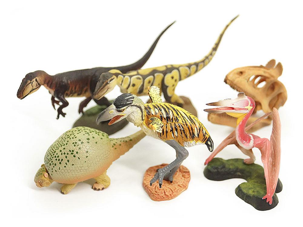 恐竜模型図鑑 海洋堂 ダイノテイルズ6